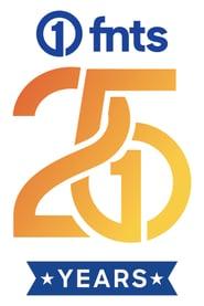FNTS 25th Anniversary Logo