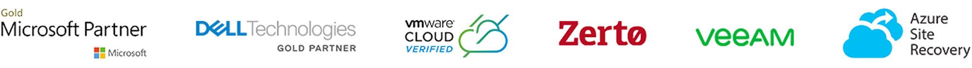 DRaaS-Parnter-Logos